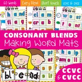 Blends - Making Words Mats - Consonant Blends - ccvc and cvcc