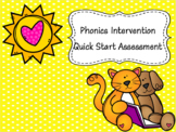 Phonics Mastery Assessment PowerPoints