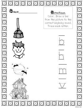 October Literacy Activities (Set #2)
