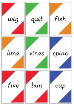 Phonics Match-It Game for Primary Grades