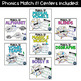 Phonics Match it! Centers BUNDLE
