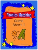 Phonics Matching Game (Short I Sound)