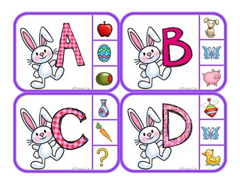 Phonics - Matching Letters to Sounds - Spring/Easter