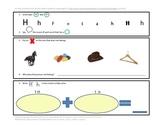Phonics, Math, & Writing Integration--Hh
