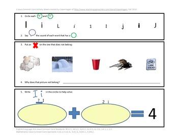 Phonics, Math, & Writing Integration--Ii