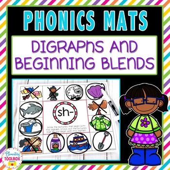 Phonics Mats Beginning Blends & Digraphs