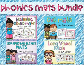Phonics Mats Bundle