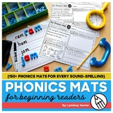 Phonics Mats for Beginning Readers Bundle