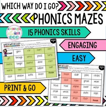 Phonics Mazes