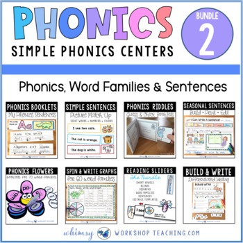 Phonics Mega Bundle 2 Whimsy Workshop Teaching