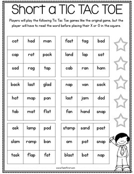 Phonics MegaPack - Short Vowels