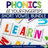 Phonics MegaPack - Short Vowels