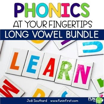 Phonics Megapack - Long Vowel Bundle