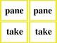 Long Vowels- Phonics Memory Game