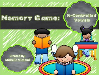 R-Controlled Vowels-Memory-Phonics Game