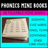 Phonics Mini Books BUNDLE - Digraphs, CVCe, Vowel Teams, D