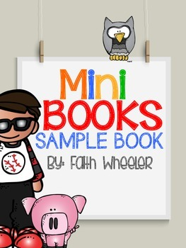 Phonics Mini Books Sample