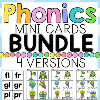 Phonics Mini Cards BUNDLE