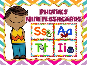 Jolly Phonics Mini Flashcards