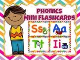 Phonics Mini Flashcards (Jolly Phonics or any phonics program)