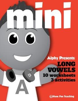 Phonics Mini Pack: Long Vowels