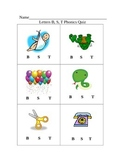 Phonics Mini Unit and Unit Quizes for Modern Curriculum Press