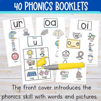 Phonics MiniBooks Bundle