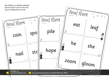 Phonics Monitoring Assessment Tracking: Advanced Phonemes Foundation Stage