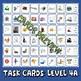 Phonics Multiple Choice Task Cards 130+ (Double Consonant Blends) LEVEL 4A