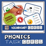 Phonics Multiple Choice Task Cards 130+ (Double Consonant Blends) LEVEL 4A