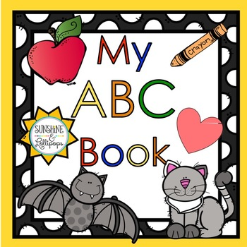 Phonics:  My ABC Book Pre-School-Kindergarten
