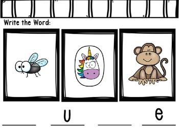 Phonics Mystery Word, Word Detective Interactive Power Point:  Long U