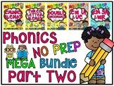 Phonics No Prep MEGA Bundle Part 2