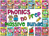 Phonics No Prep Massive MEGA Bundle