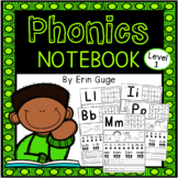 Phonics Notebook: Individual Letter Sounds