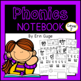 Phonics Notebook: Two- and Three-Letter Beginning Consonan