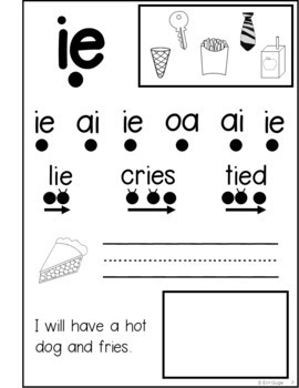 Phonics Notebook: Vowel Teams, Diphthongs, Digraphs, R-Controlled, and Silent E