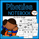 Phonics Notebook: Vowel Teams, Digraphs, R-Control, Silent