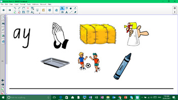 Phonics Notebook to support Set 3 worksheets