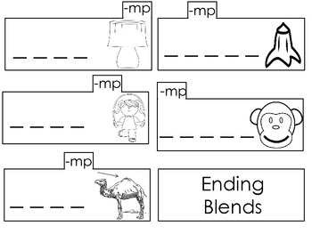 Phonics Notebooking in the Primary Grades: Ending Blends