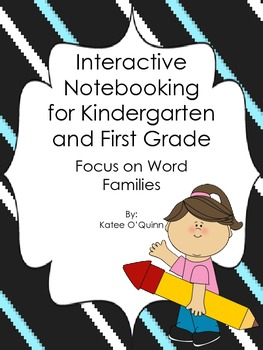 Phonics Notebooking in the Primary Grades using Word Families