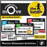 Phonics On the Move Bundle (Phonics Movement Activities fo