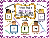 Phonics Pack 3 McGraw-Hill Reading Wonders Supplement