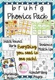 Phonics Pack 3 - b, r, u, h, f, g