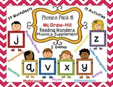Phonics Pack 5 McGraw-Hill Reading Wonders Phonics Supplement