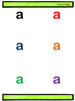 Phonics Pack- 50 pages of small group and independent practice