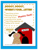 Phonics Pack- Letter cards, Games, Cut & Paste Activities,