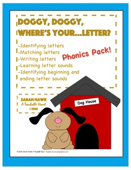 Phonics Pack- Letter cards, Games, Cut & Paste Activities,