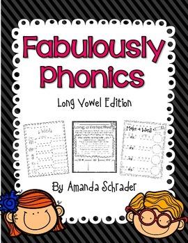 Phonics Pack: Long Vowel Edition