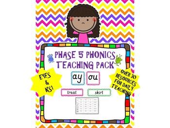 Phonics Pack-Phase 5